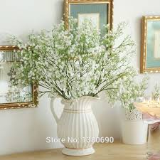 Decorative Branches For Vases Uk Aliexpress Com Buy 10pcs Hand Craft Silk Vision Flowers