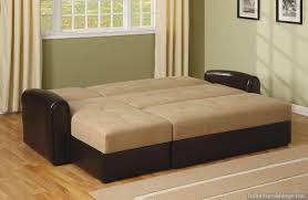 Sectional Sleeper Sofa With Storage Microfiber Sofa Bed Sectional Www Redglobalmx Org