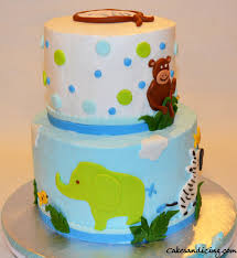 jungle theme cake baby shower cakes custom designed cakes for all occasions