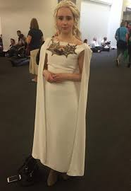 Daenerys Targaryen Costume Daenerys Targaryen Season 5 White Cape Dress Cosplay Album On Imgur