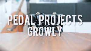 pedal projects growly demo youtube