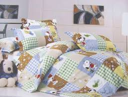 Snoopy Bed Set Baby Snoopy Crib Bedding Set Home Inspirations Design Snoopy
