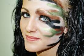 camo makeup inspiration hotdame pinterest camo makeup and