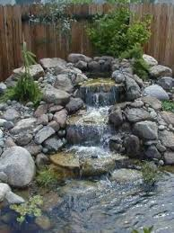 Small Backyard Water Features by 21 Best Ponds U0026 Water Features For Yard Images On Pinterest