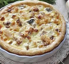 recette de cuisine quiche au poulet quiche poulet curry chignons au thermomix recette thermomix