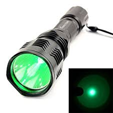green light for hog hunting z z waterproof hs 802 350 lumens led flashlight 250 yard long range