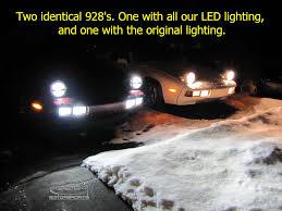 high output led lights output led h3 bulbs for fog and driving lights 928 motorsports