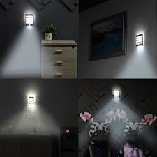 Battery Operated Bedroom Wall Lamps With Cord Sanyi Sconce Led Pir Motion Sensor Activated Night Light Battery
