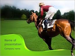 equestrian sport powerpoint template u0026 backgrounds id 0000006248