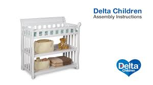 Delta Bennington Changing Table Delta Children Eclipse Changing Table Assembly