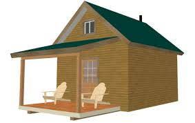 226 12 u2032 x 14 u2032 x 8 u2032 bunk cabin plan free house plan reviews