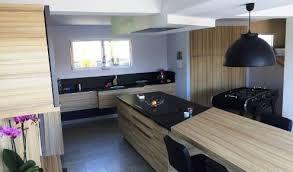 cuisine moderne et noir stunning cuisine bois et noir photos lalawgroup us lalawgroup us