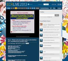 ecr live u2013 setting a new trend in medical congresses blog