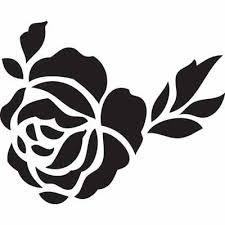 best 25 rose tattoo stencil ideas on pinterest rose outline