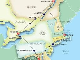 map of eastern usa and canada east coast usa map for of the roundtripticketme road map us