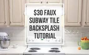 how to do backsplash in kitchen simple diy tile backsplash hometalk