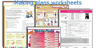 english teaching worksheets making plans