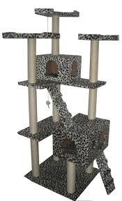furniture divine light brown furry cat trees for living room