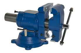 yost 5 1 8 in multi jaw rotating combination pipe and bench vise