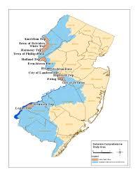 Yellow River Map Philadelphia District U003e Missions U003e Civil Works U003e Delaware River
