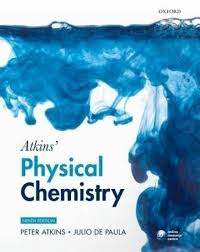 atkins u0027 physical chemistry 0009 edition 9 rev ed edition buy