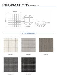 imitation stone full body mosaic kitchen wall tiles non slip