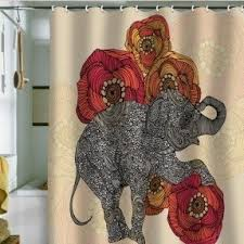 exotic shower curtains foter