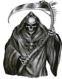covered scary gorgeous grim reaper tattoo design tattoos with