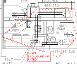fire rated exhaust fan enclosures f s ders ibc 209 section 716 5 3 building code discussion