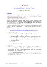 libfredo6 user manual english v5 2 documents