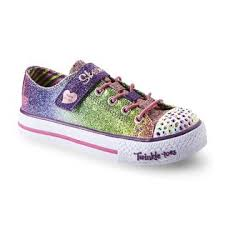 rainbow light up shoes skechers s twinkle toes sparkle kiss rainbow light up sneaker