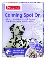 beaphar calming spot on for dogs amazon co uk pet supplies