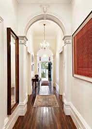 home interior arch designs wood floors archway architecture interior design white