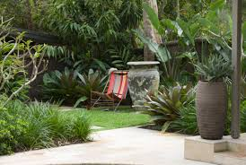 tropical garden ideas view in gallery striped garden seating transform your yard into a