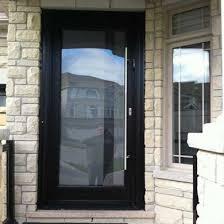 Exterior Glass Door Modern Glass Front Doors For Homes Frosted Front Door