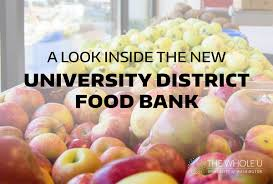 a look inside the new university district food bank the whole u