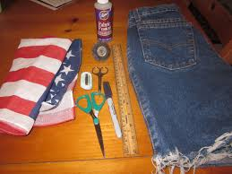 Flag With Bible Diy American Flag High Waisted Shorts The Fashion Bible