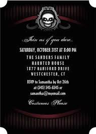 halloween invitations scary halloween party invitation evil skull