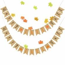 burlap thanksgiving banner popular fall banner buy cheap fall banner lots from china fall