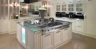 luxus kche mit kochinsel moderne küche massivholz lackiertes holz glas luxury