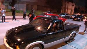 okc monster truck show street outlaws busted on the streets of l a street outlaws