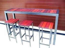 metal bar table set patio bar table outdoor pub table set outdoor pub table set patio