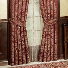 palatial wide swag valance window treatment