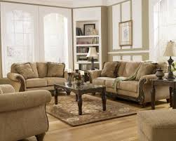 Livingroom Packages Living Room Set With Ottoman Carameloffers