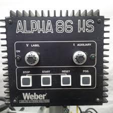 manual label applicator machine used gesset alpha 86 hs labeler impak packaging