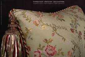 Home Decor Designer Fabric by Custom Design Pillows Lee Jofa Silk Angelina Lampas In Willow