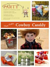 delightful endeavors wild west birthday tin cans centerpieces