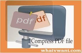 Compress Pdf Compress Pdf File 3 Simple Tips To Reduce Pdf Size By 80