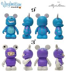 blot disney vinylmation sully u0026 boo monsters