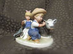 home interior denim days figurines home interiors denim days 1997 the prize pumpkin porcelain